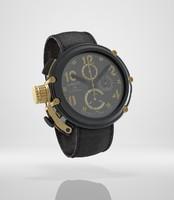 3d model chronograph watch