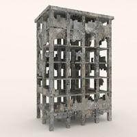 Ruins buildings