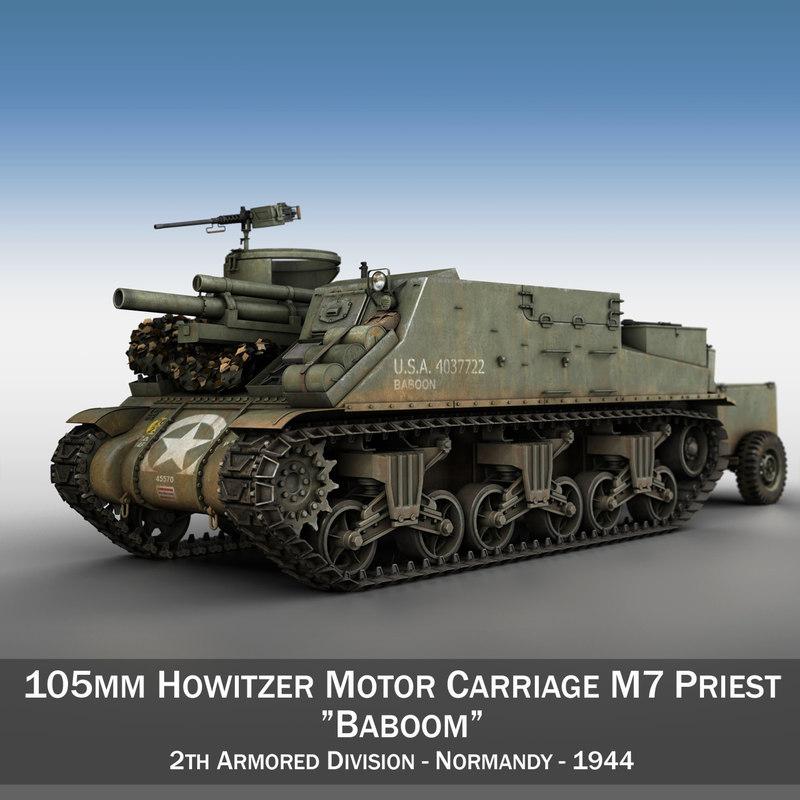 3d m7 priest - baboom