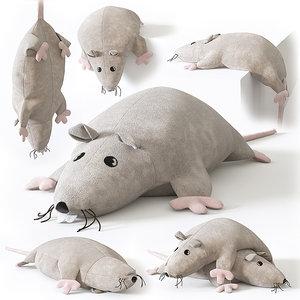 soft toy rat max