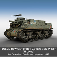 3d m7 priest - uranus model