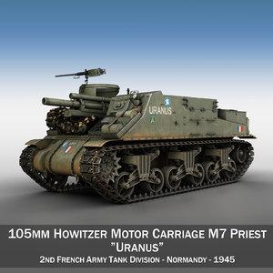 3d m7 priest - uranus model