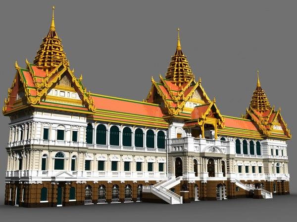 3d thailand chakri maha model