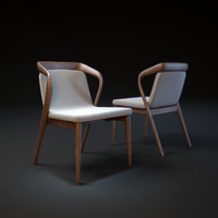 3d model feat-chair