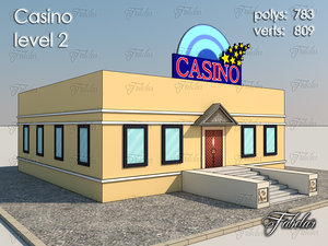 casino level 2 3d model