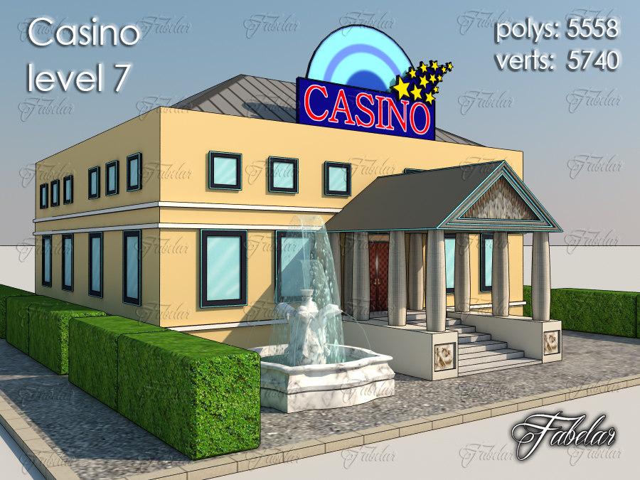 3ds casino level 7