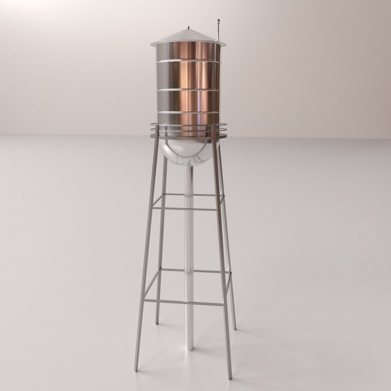 water tower 3ds