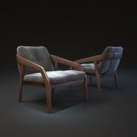 zeitraum-friday1-armchair 3d max