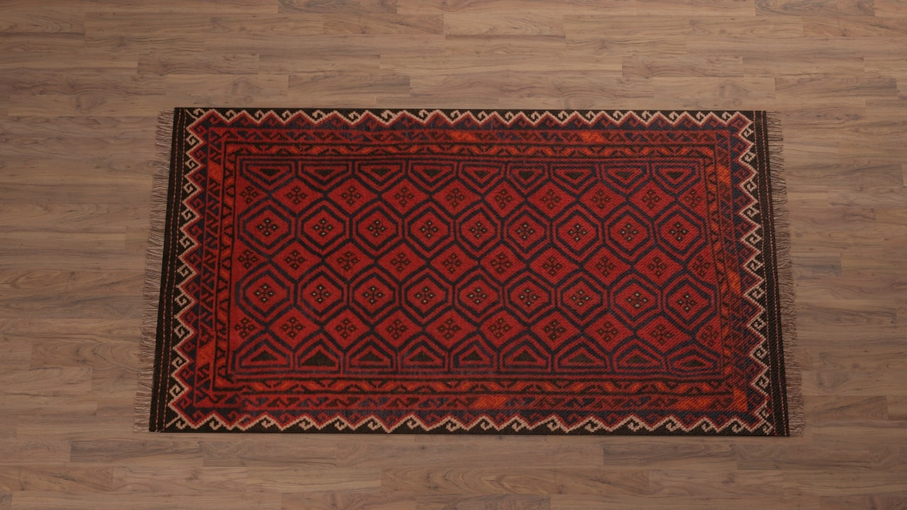 3d model persian carpet