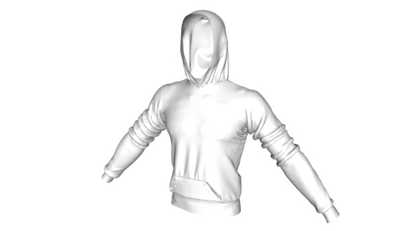 sweatshirt color 3d model