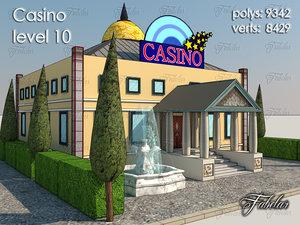 casino level 10 3d model