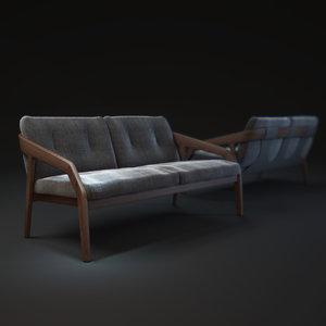 zeitraum-friday2-bench 3d model