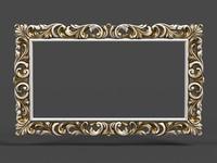 3d mirror cnc model