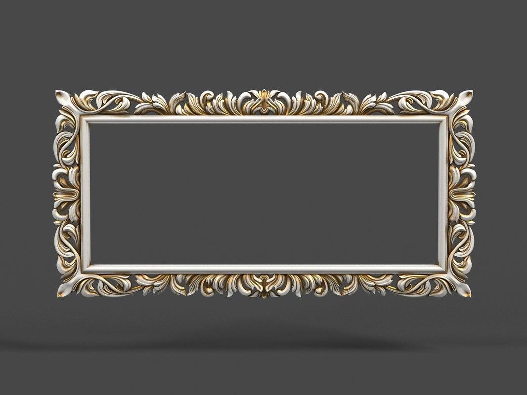 mirror cnc 3d model