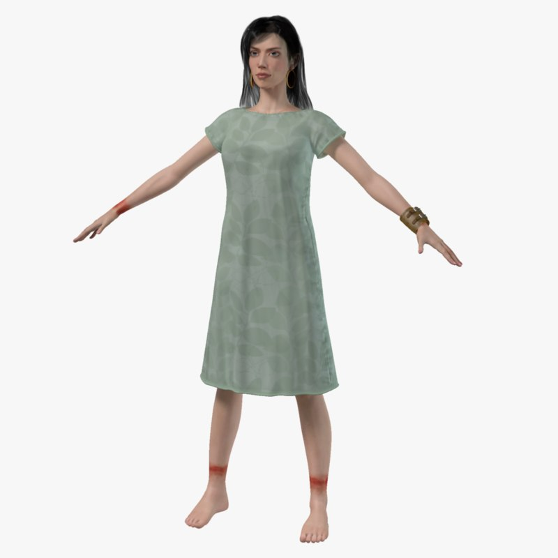 max hospital patient rigged girl