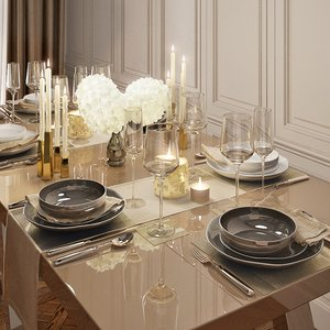 3d tableware ware