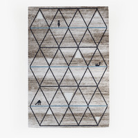 calligaris gava carpet rug 3d model