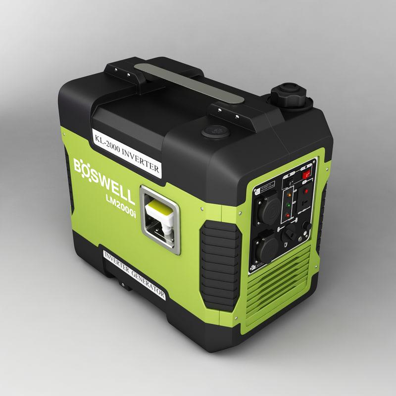 3d boswell generator model