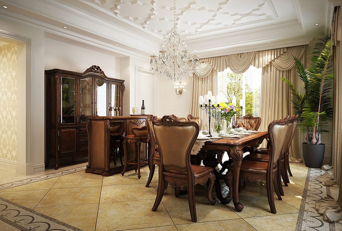 dining room cabinet 3d model