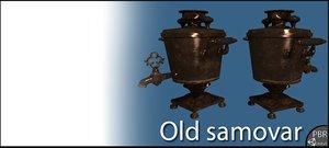 old samovar 3d 3ds