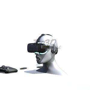 c4d oculus visor