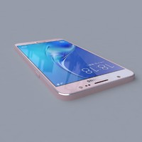3d model samsung galaxy j7 2016