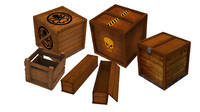 ready box pack 3d model