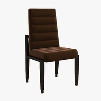 italian medea union chair 3d model