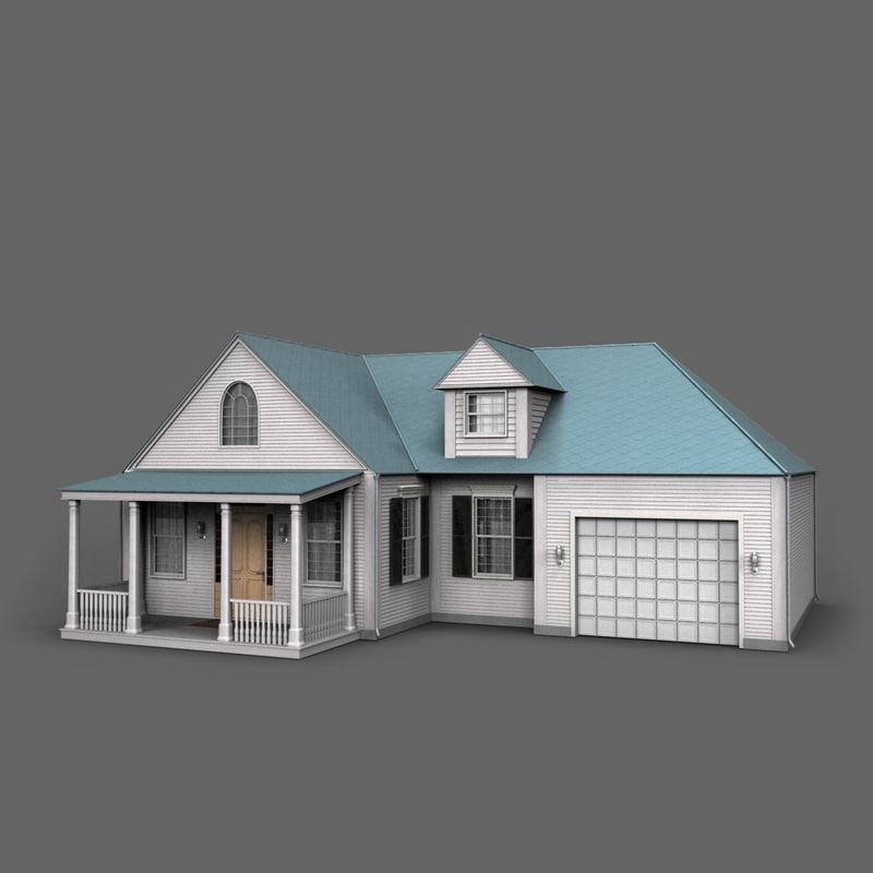 max house white wood paneling