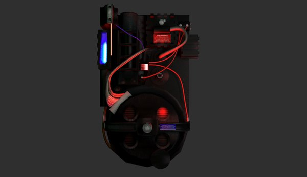 proton pack ghostbusters 3ds