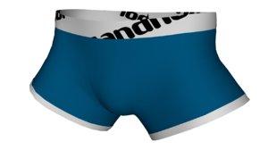 3d underwear boxer model