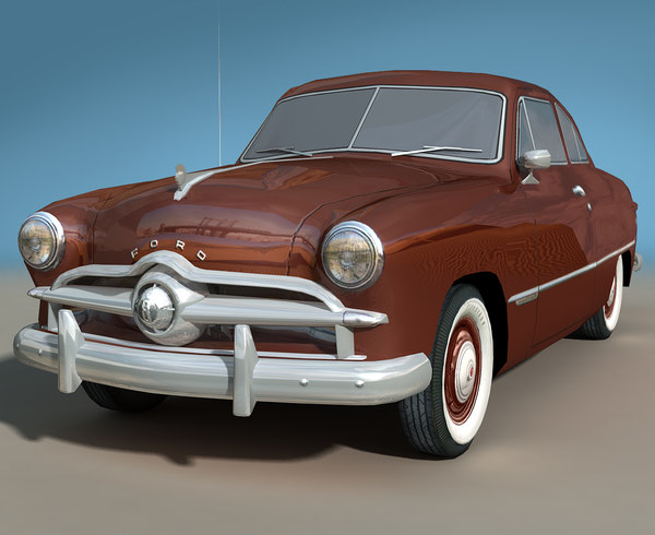 1949 sedan 3d model