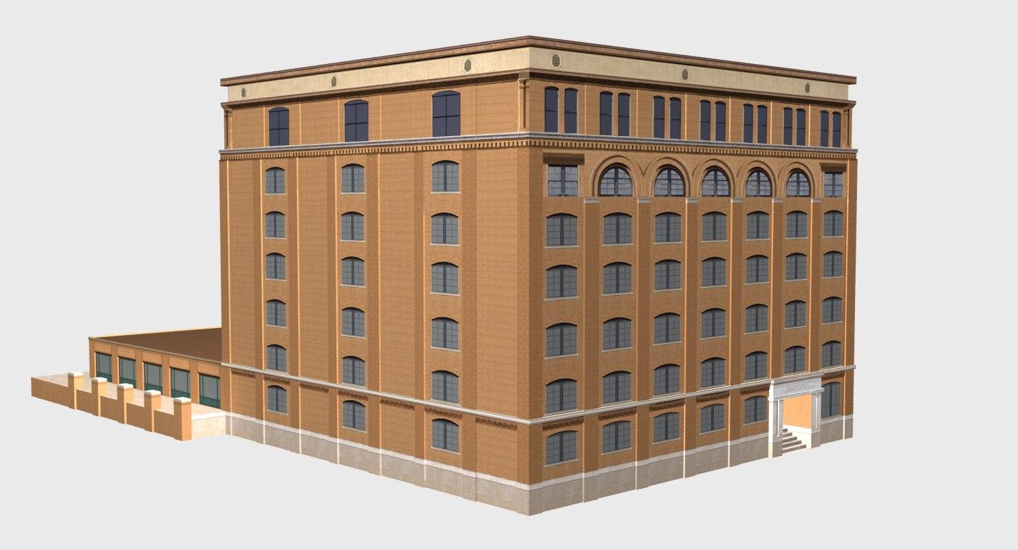 sixth floor museum 3d fbx