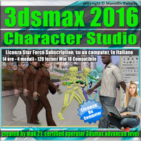 3dsmax 2016 Character Studio Subscription 1 Computer