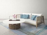 3d custom designed sofa table