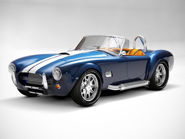cobra 427 1965 c4d