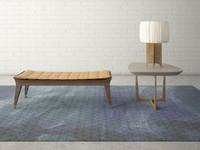 Custom Design Bench Lamp Table Set