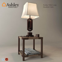 3d scottey table lamp dexifield model