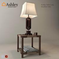 3d scottey table lamp dexifield model