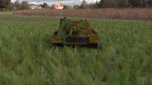 soviet tank destroyer hdri 3d model