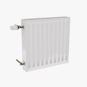 radiator 50x50 3d max