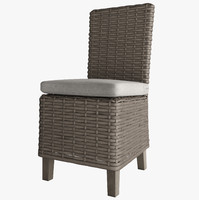 3d model of antilles rattan