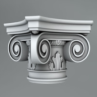 3d max classical decoration ornamental