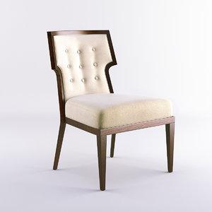 3d model bolier atelier chair