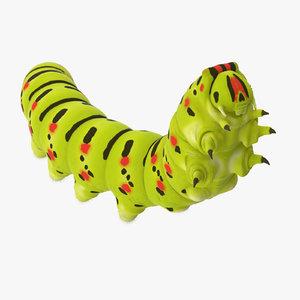 3d climbing caterpillar