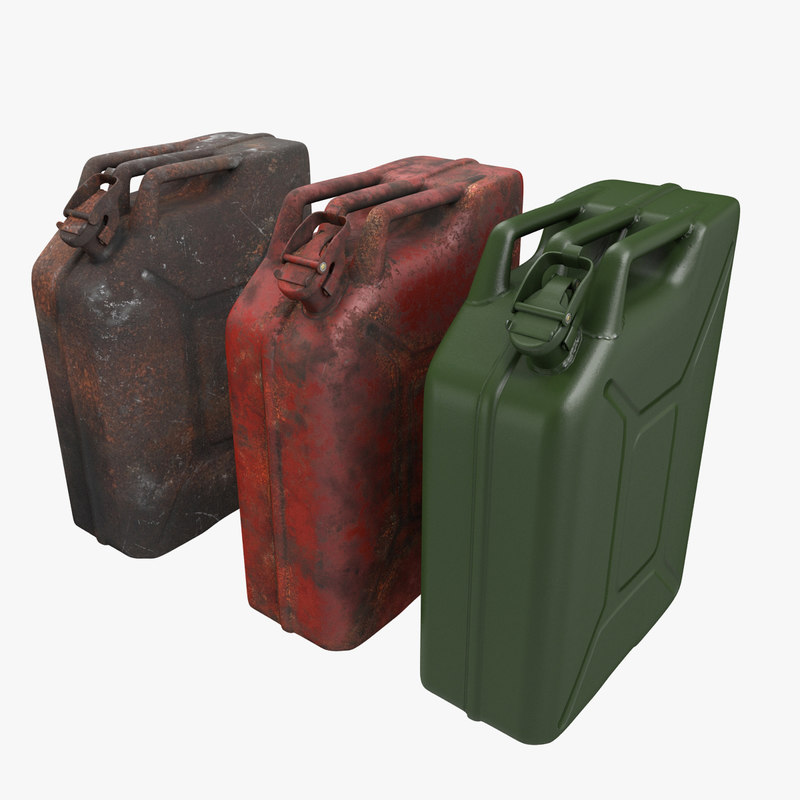 jerry jerrycan 3d model