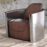 seat aviator tomcat chair 3d obj