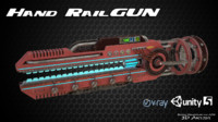 Hand RailGun