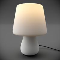 mushroom light lamp 3d max