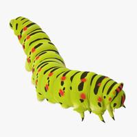 climbing caterpillar c4d